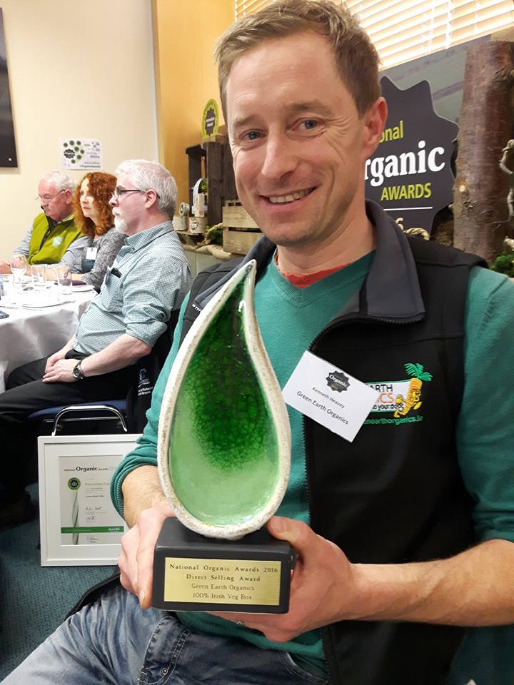Green Earth Organics wins Best Direct Selling Award at the National Organic Awards