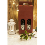Hamper Wine Box Red & White, ITALY, 2pcs [V] CHRISTMAS DELIVERED TO YOUR DOOR