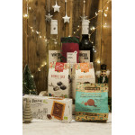 Chocolate & Wine Eco Hamper, 1pc CHRISTMAS DELIVERED TO YOUR DOOR