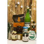 Irish Eco Hamper, 1pc CHRISTMAS DELIVERED TO YOUR DOOR