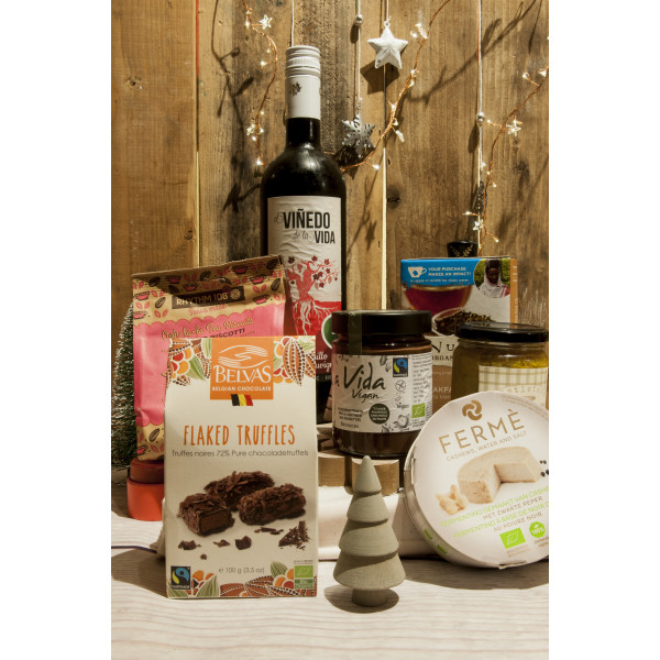 Vegan Eco Hamper, 1pc [V] CHRISTMAS DELIVERED TO YOUR DOOR