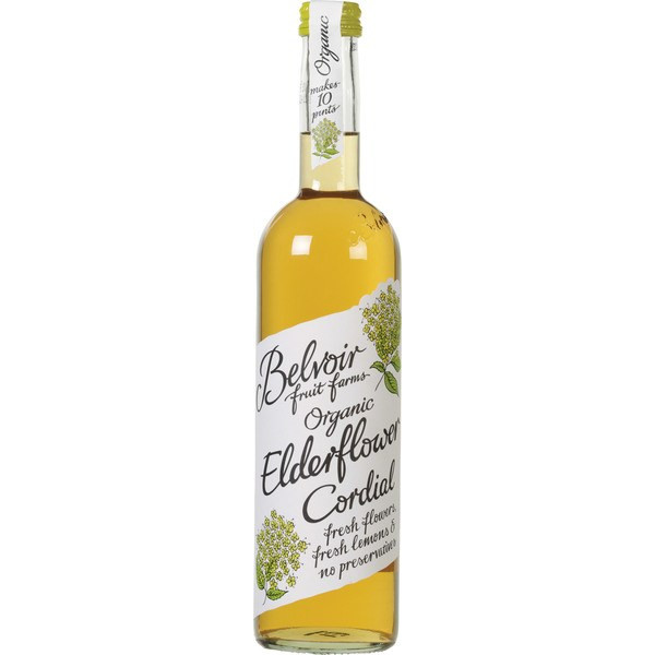 Elderflower Cordial, Belvoir, 500ml [PF][V][GF]