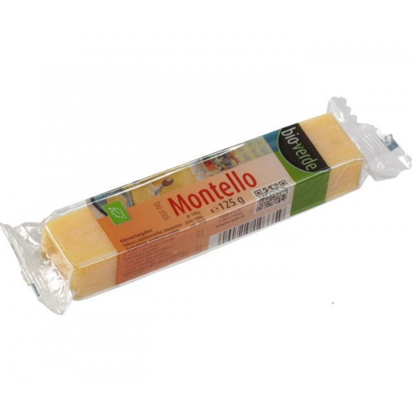 Montello Hard Cheese, Bioverde, 125g