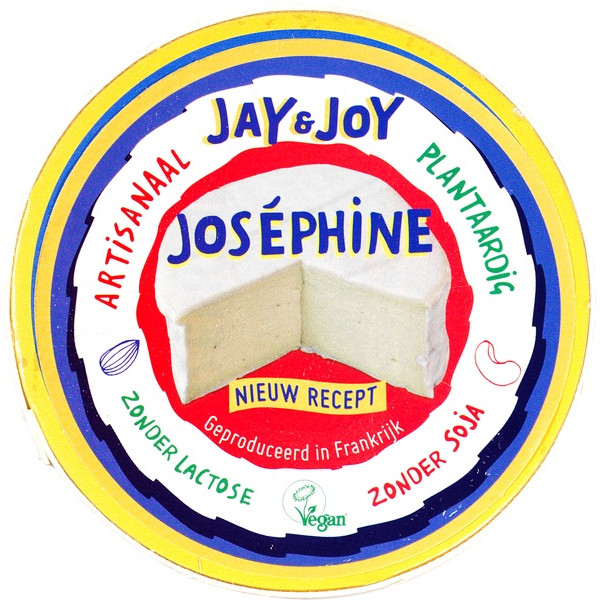 Josephine Vegan Brie Cheese, Jay & Joy, 90g [V] [GF]