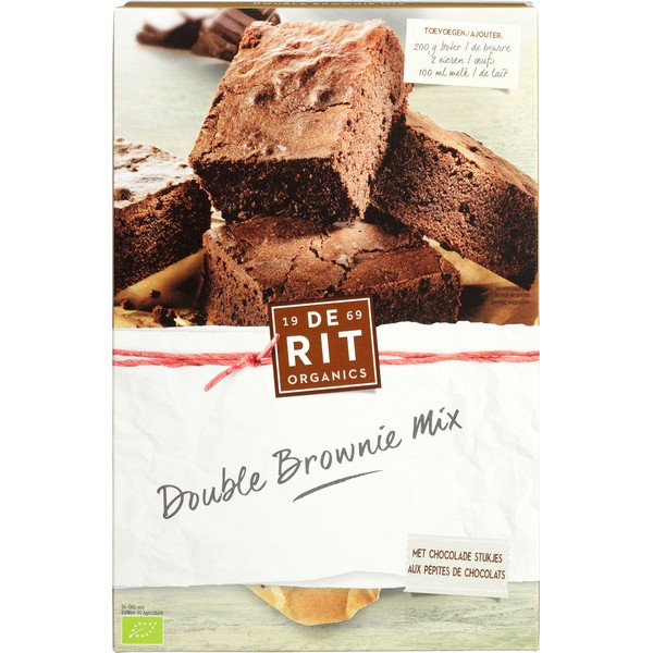 Organic Baking Mix Brownies