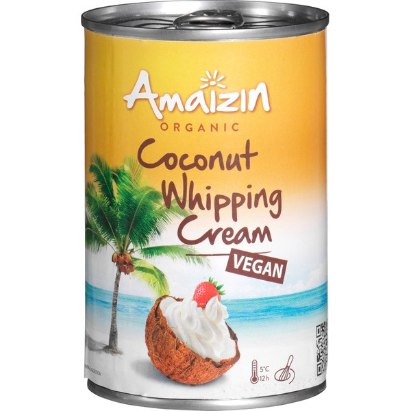 Organic Coconut Whipping Cream