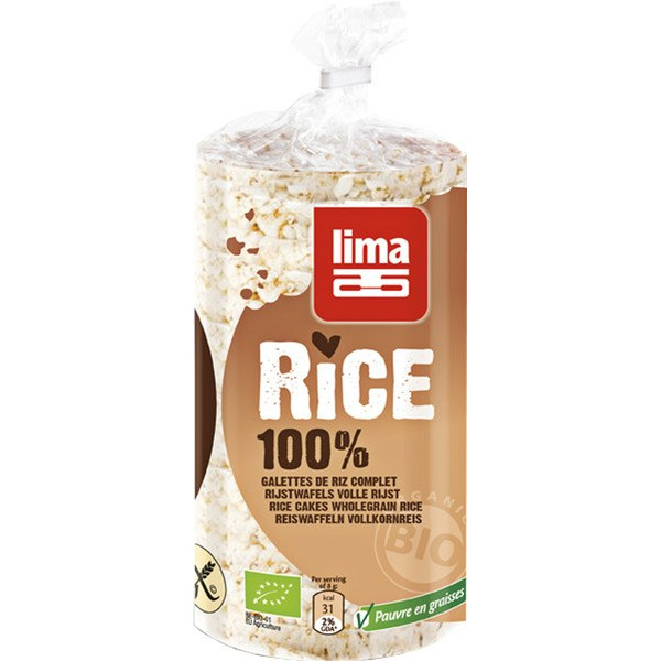 Organic Rice Cakes Wholegrain