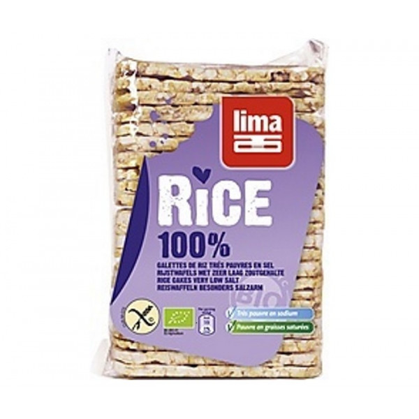 Rice Cakes Thin, Unsalted, 130g [GF] [V]