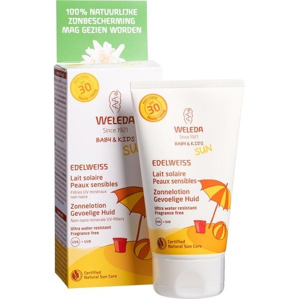 Weleda Kids Sunscreen Sensitive SPF30