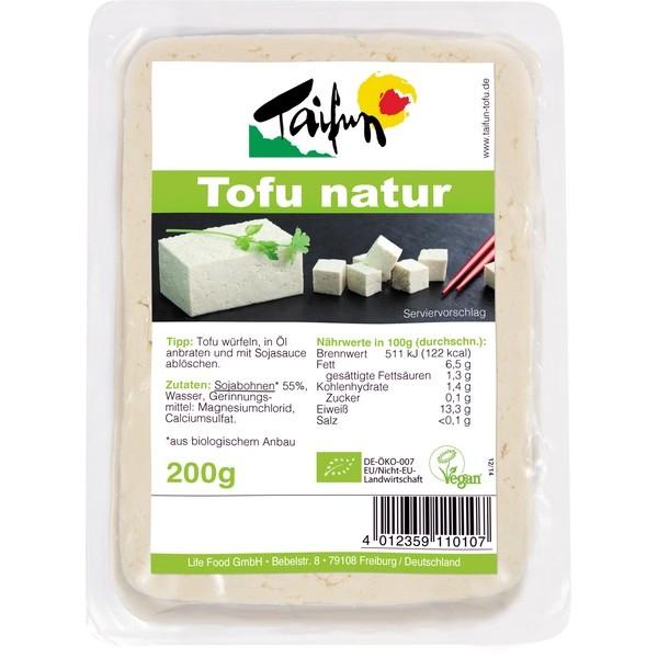 Organic Natural Tofu