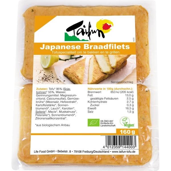Organic Tofu Filets Japanese