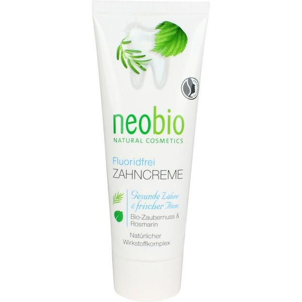 Toothpaste, Adult, Neobio, Fluoride-Free