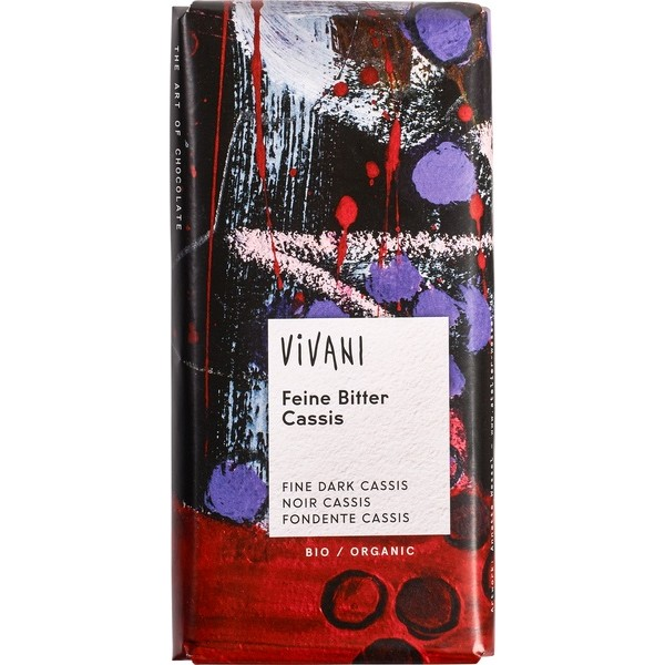 Organic Chocolate Dark, Cassis
