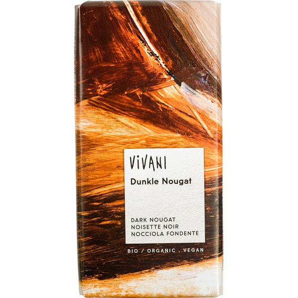 Chocolate Dark Nougat, Vivani, 100g [PF] [V]
