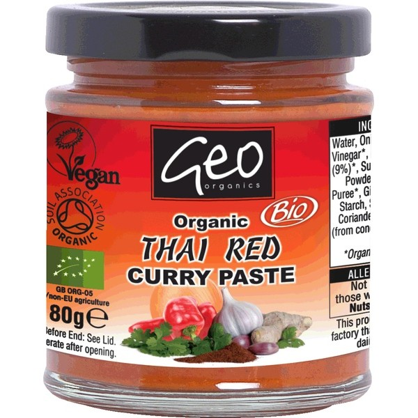 Organic Curry Paste Thai Red