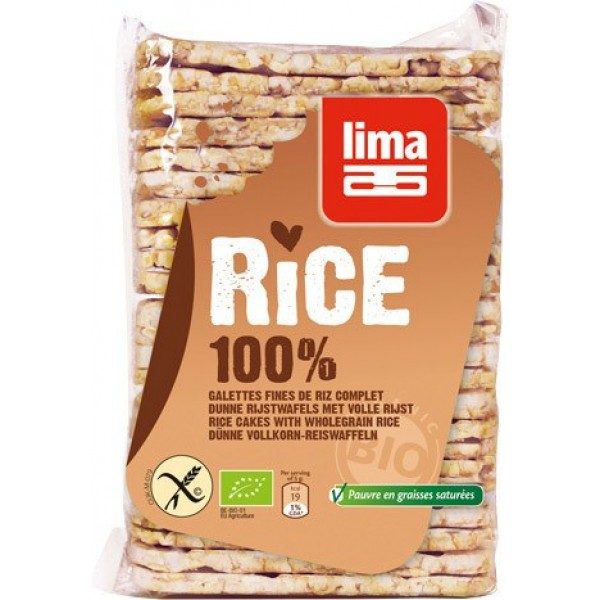 Organic Rice Cakes Thin Wholegrain