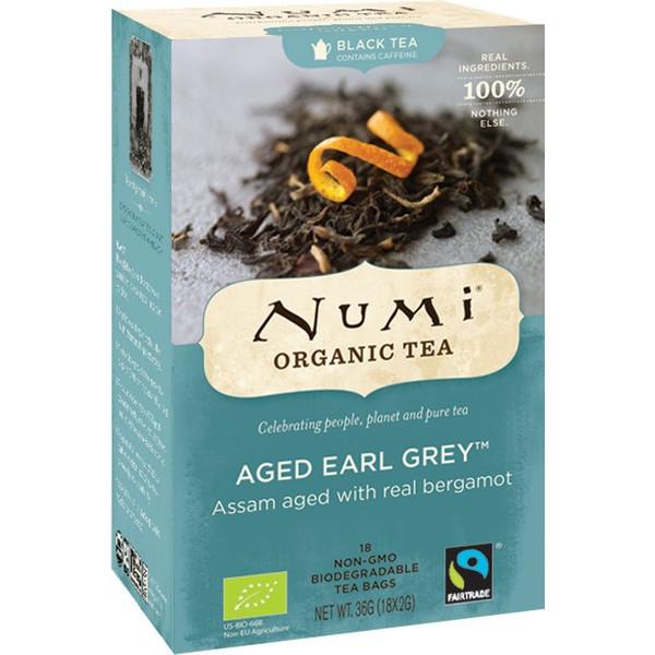 Organic Numi Tea Aged Earl Grey