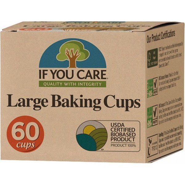 Baking Cups Large, 60pc [PF]
