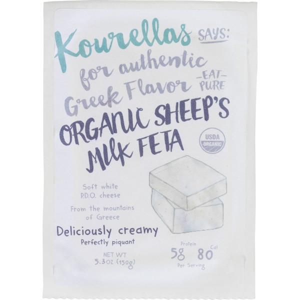 Organic Feta Cheese, 100% Sheep's Milk