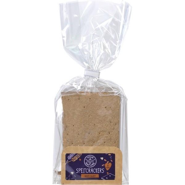 Organic Multi Seed Spelt Crackers [V]