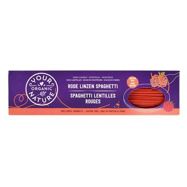 Organic Red Lentil Spaghetti