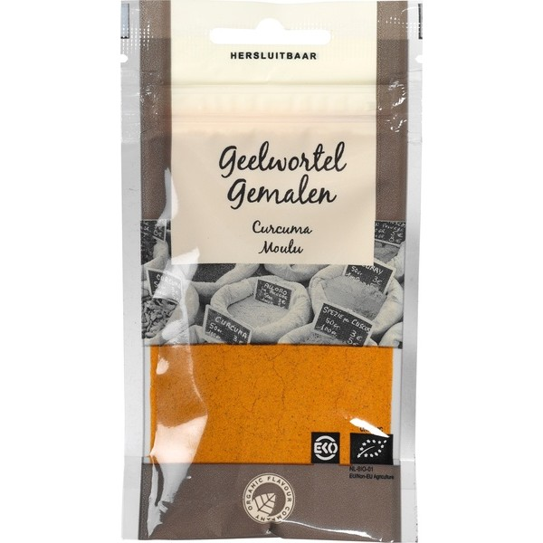 Organic Sachet of Ground Turmeric