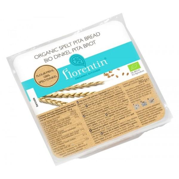Organic Pita Bread Spelt