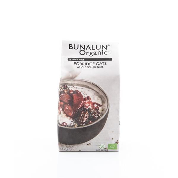 Gluten Free Porridge Oats, Bunalun, 500g [GF]