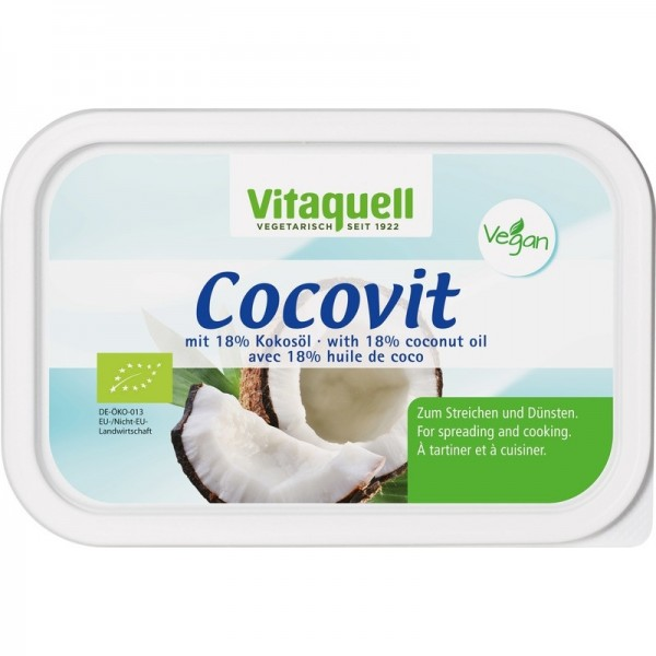 Coconut Oil Spread, Cocovit, 250g [GF] [V] Vegan Products [V]