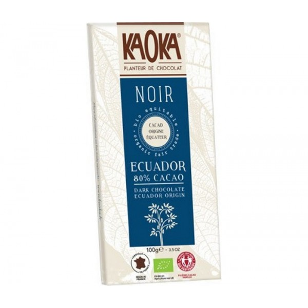 Organic Chocolate Kaoka Dark 80% (100g)