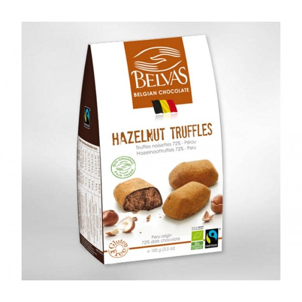 Organic Chocolate Hazelnut Truffles