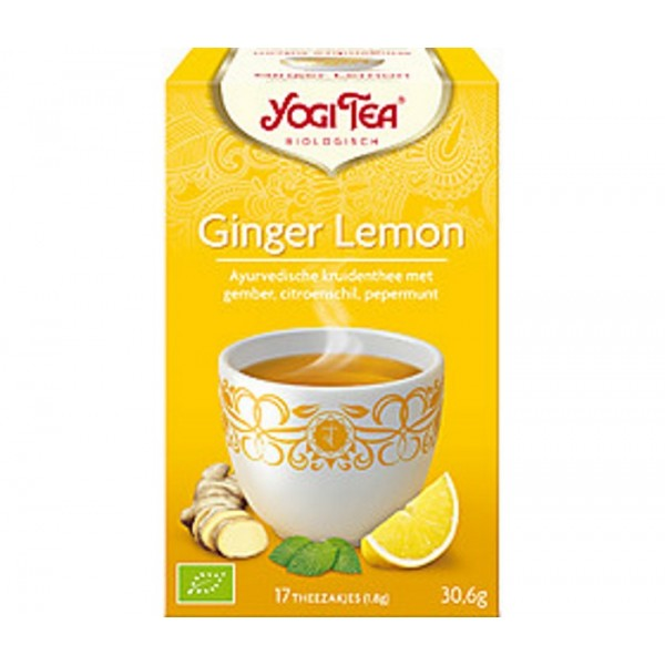 Organic Yogi Ginger Lemon Tea