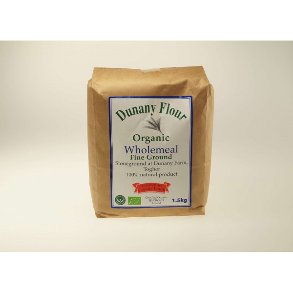 Dunany Fine Ground Wholemeal Flour IRISH, 1.5kg [PF]