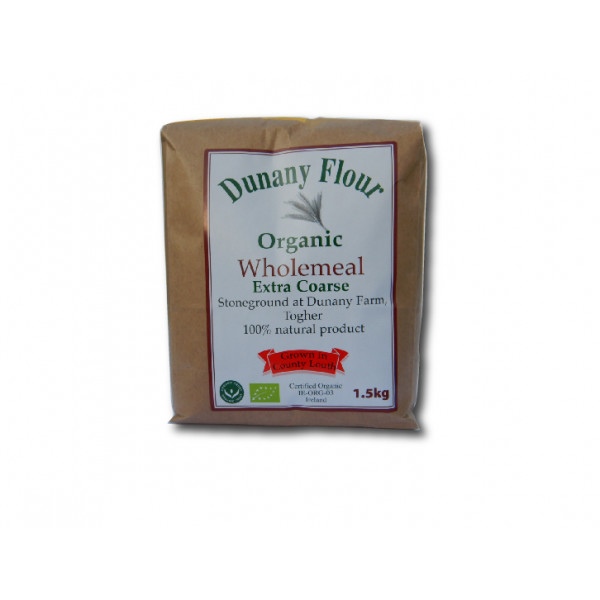 Dunany Extra Coarse Wholemeal Flour, IRISH, 1.5kg FARM or IRISH Produce