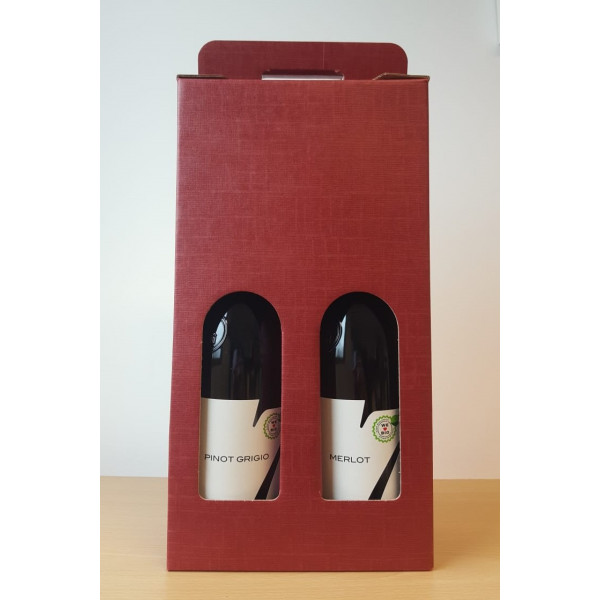Organic Wine Gift Set Italian, Red & White