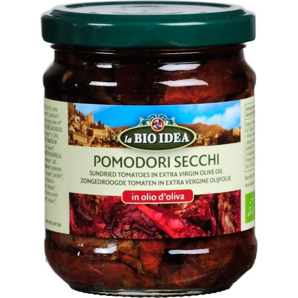 Sun-Dried Tomatoes in Olive Oil, 190g