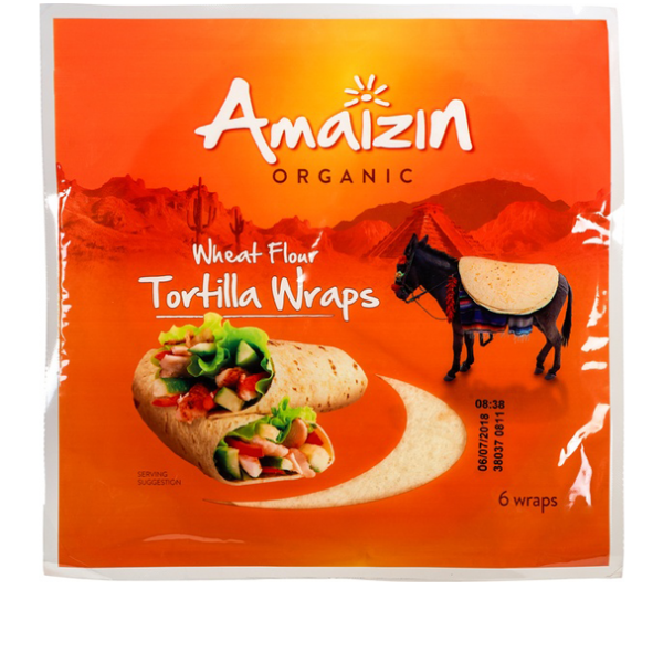 Organic Tortilla Wraps