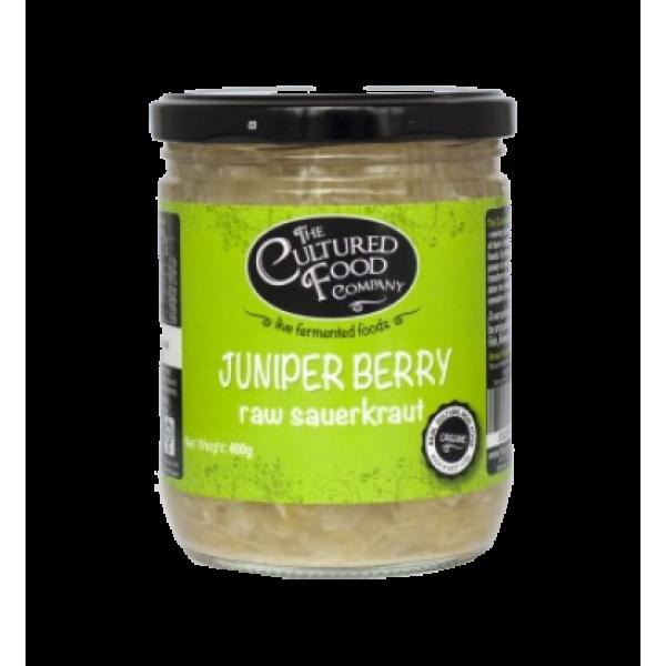 Organic Raw Sauerkraut Juniper Berry