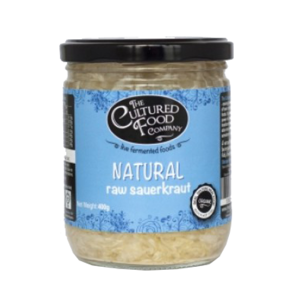 Organic Raw Sauerkraut Natural