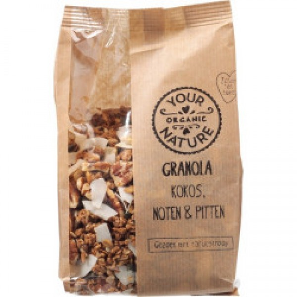 Organic Granola Coconut Nuts & Seeds