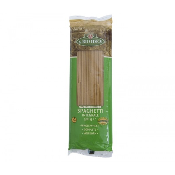 Spaghetti Whole Wheat, 500g