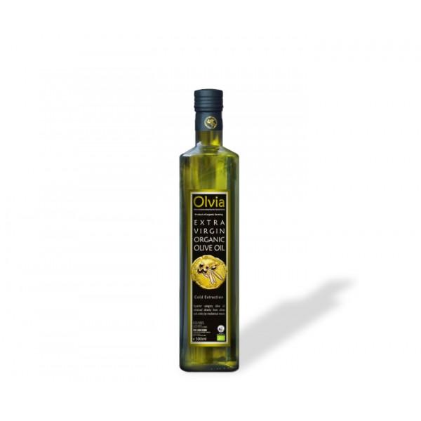Olive Oil Extra Virgin, OLVIA, 500ml Plastic Free Aisle [PF]
