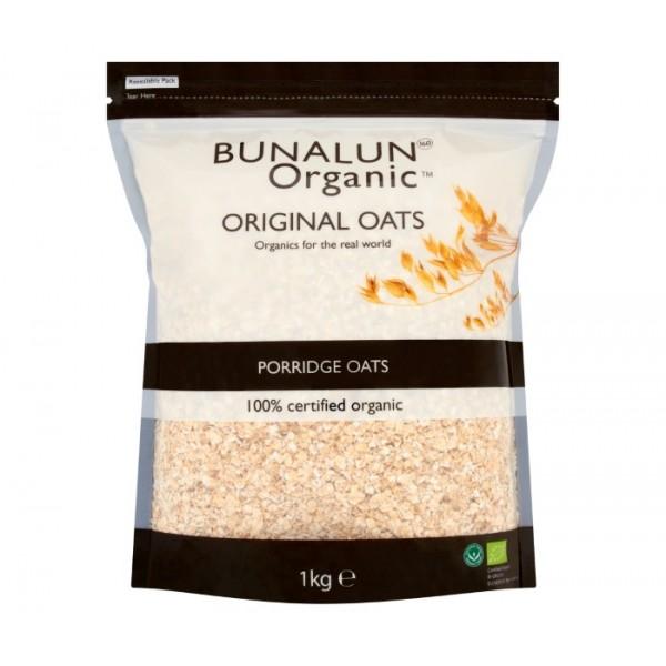 Organic Bunalun Porridge Oats