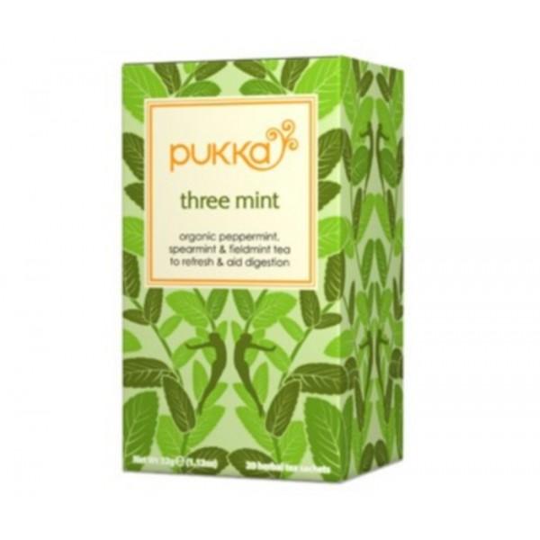 Organic Pukka Three Mint