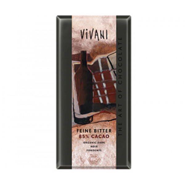 Chocolate Dark 85%, Vivani, 100g [GF] [PF] [V]