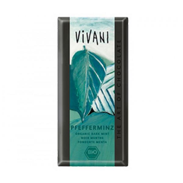 Organic Chocolate Vivani Dark Peppermint