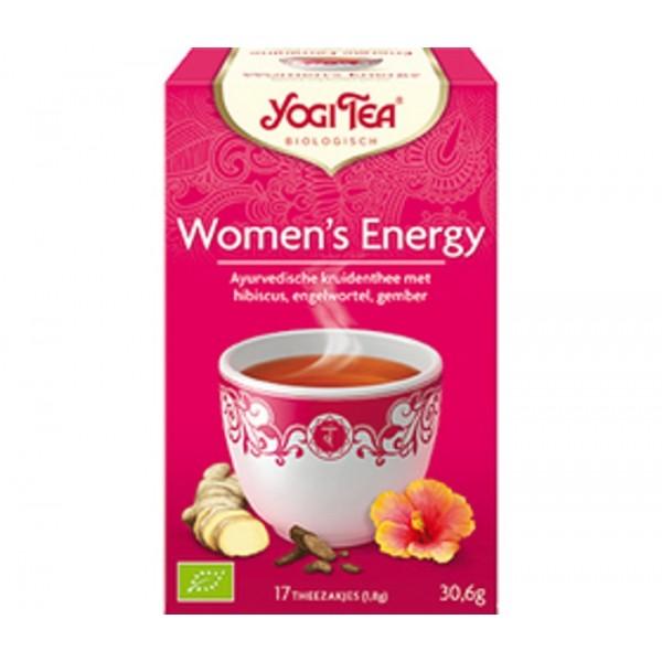 Organic Yogi Women's Energy Tea